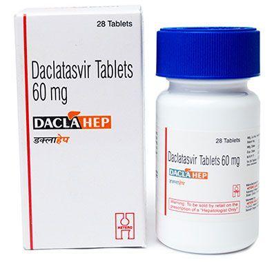 Daclahep цена