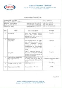 Лицензия на Sovihep